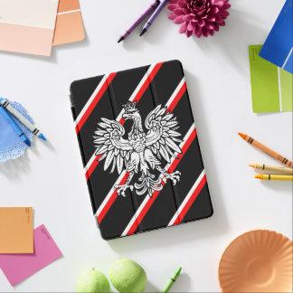 Polish stripes flag iPad air cover