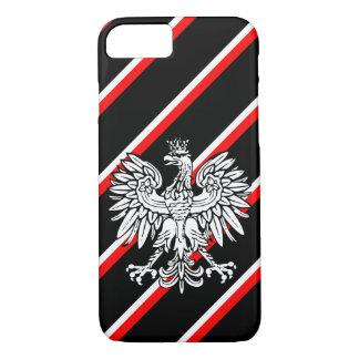 Polish stripes flag iPhone 8/7 case