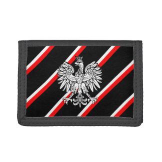 Polish stripes flag tri-fold wallet