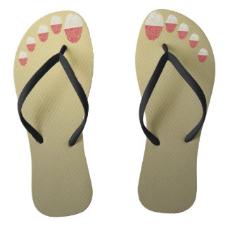 Polish touch fingerprint flag flip flops