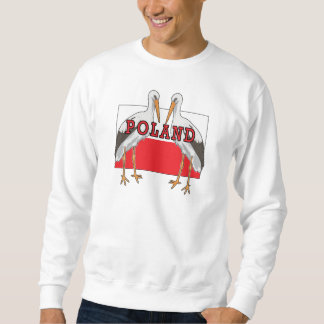 Polish White Stork Poland Sweatshirt