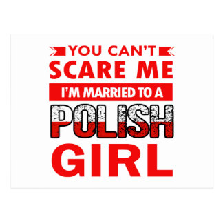 Polish Wife Postcard