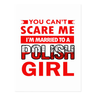 Polish Wife Postcard