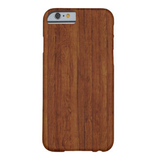 Polished Bamboo Wood Texture Pattern Barely There iPhone 6 Case