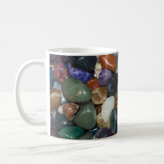 Polished Colorful Stones Coffee Mug