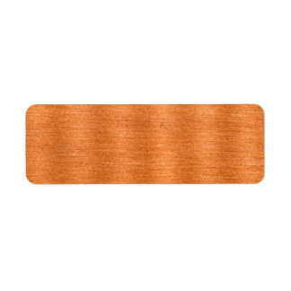 Polished Copper Wavy Texture Background