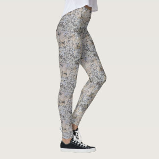 Polished Granite Stone Leggings