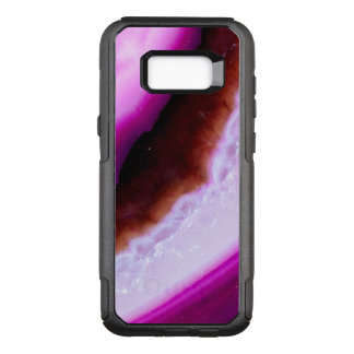 Polished Purple Agate With Quartz OtterBox Commuter Samsung Galaxy S8+ Case