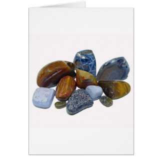 Polished Rocks Card