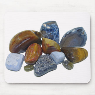 Polished Rocks Mouse Pad