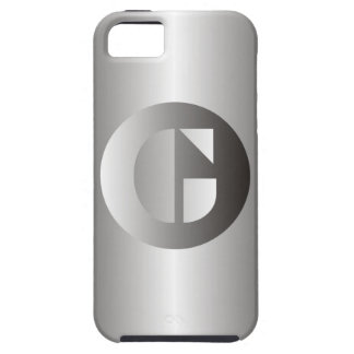 "Polished Steel ""G"" iPhone 5 Covers"