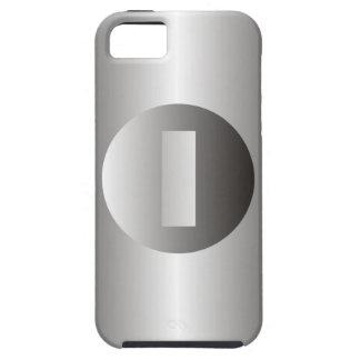 "Polished Steel ""I"" iPhone 5 Case"