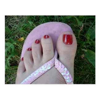 Polished Toes Beauty or Salon Postcards