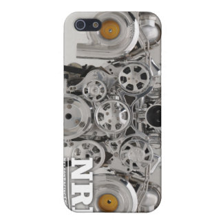 Polished Twin Turbo Engine Cover For iPhone 5/5S