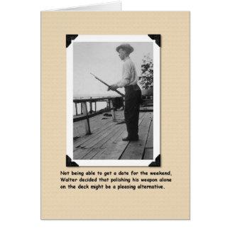 Polishing the Weapon Card