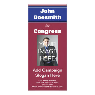 Politcal Election Rack Card Template