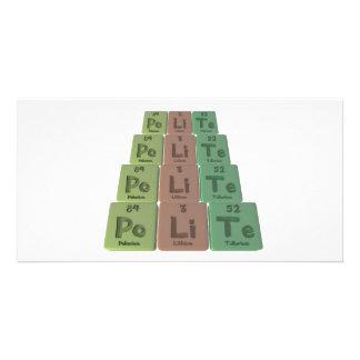 Polite-Po-Li-Te-Polonium-Lithium-Tellurium png Photo Cards