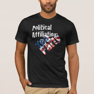 Political Affiliation: Tea Party t-Shirt