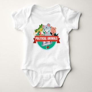 Political Animals Babies T-shirt
