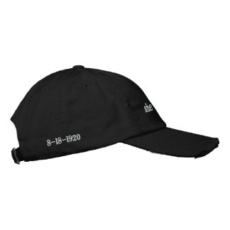 political baseball cap for women