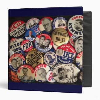 Political Button Binder