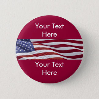 Political Campaign Candidate Button Template