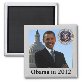 Political Campaign for 2012 Magnet