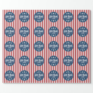Political Campaign - Patriotic Stars and Stripes
