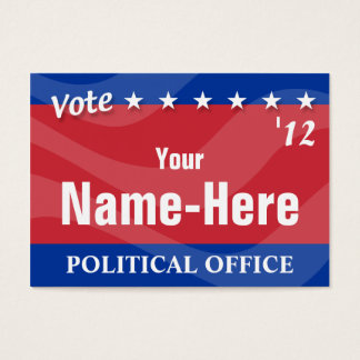 Political Campaign with QR Tag