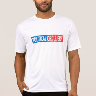 Political CircleJerk Fitted T-Shirt