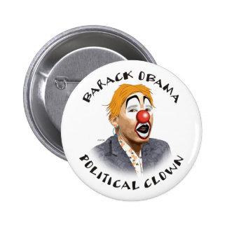 Political Clown 2 Inch Round Button