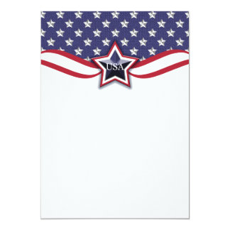 Political Convention Election Campaign   July 4th Card