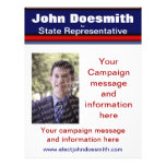 Political Election Campaign Flyer Template