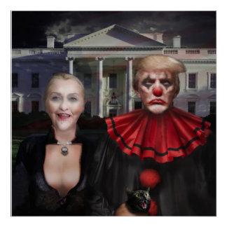 Political Gothic Poster