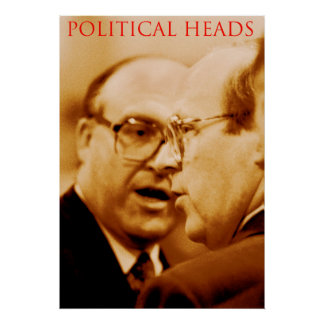 political heads poster