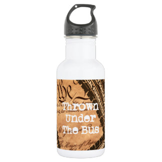 political humor 532 ml water bottle