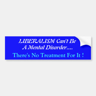 Political Humour on a Bumper Sticker