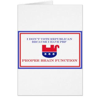 Political Items Card
