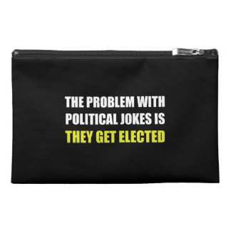 Political Jokes Elected Travel Accessory Bags