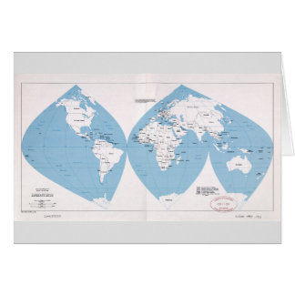 Political Map of the World (1983) Card