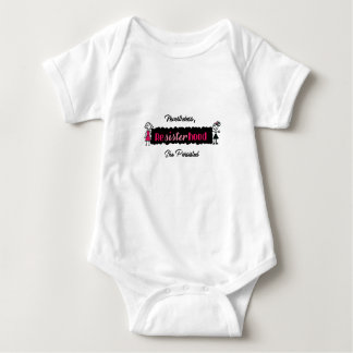 Political Resisterhood Nevertheless She Persisted Baby Bodysuit