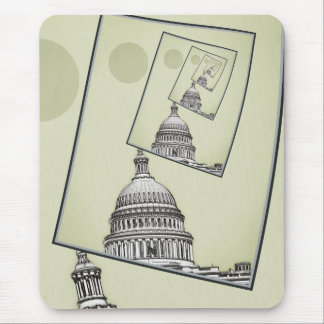 Political Spin Mouse Pad