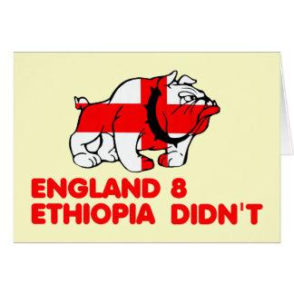 Politically incorrect English Card