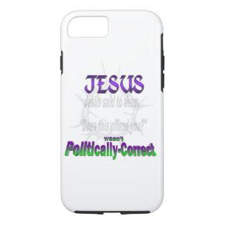 Politically Incorrect Jesus iPhone 7 Case