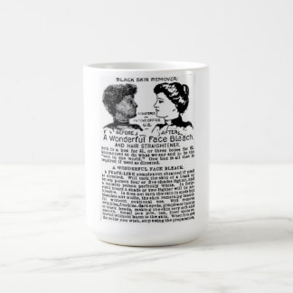 Politically Incorrect newspaper ad for skin cream Coffee Mug
