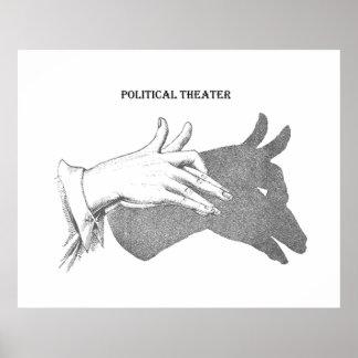 Politics, Democrats, Shadow Government Poster