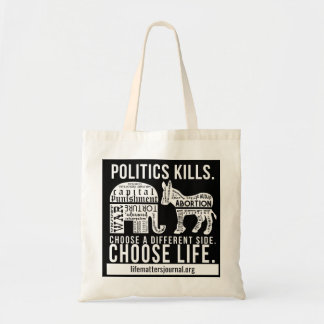 Politics Kills tote