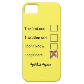 Politics phonecase iPhone 5 case