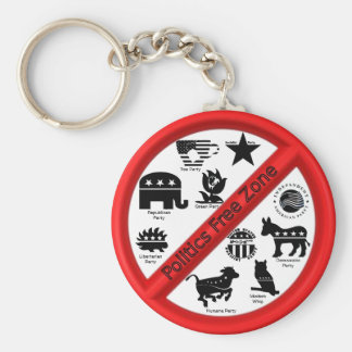 Politics Replant Keychain