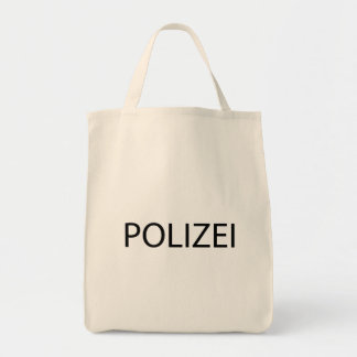 POLIZEI - German Police Grocery Tote Bag